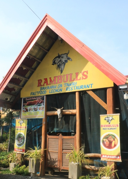 Front view of Rambulls Restaurant in Tanay, Rizal, Philippines